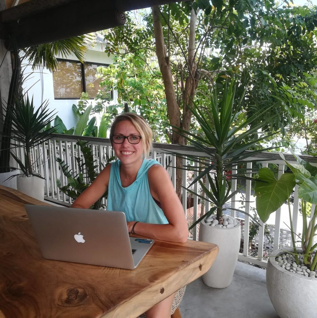 working remote in Bali